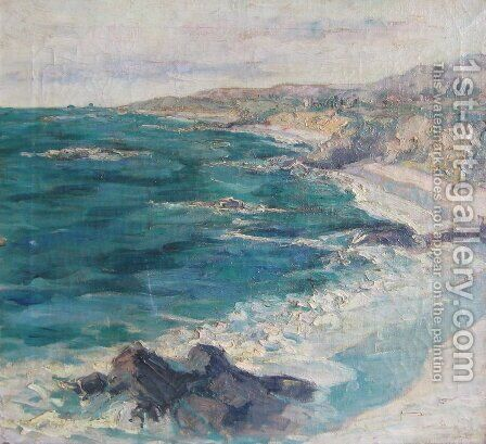 Laguna by Guy Rose - Reproduction Oil Painting