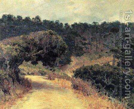 Monterey Forest by Guy Rose - Reproduction Oil Painting