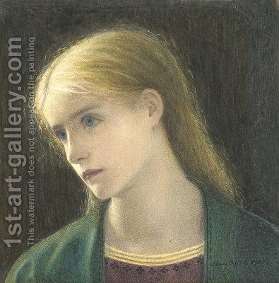 Evelyn Hope by Edward Clifford - Reproduction Oil Painting