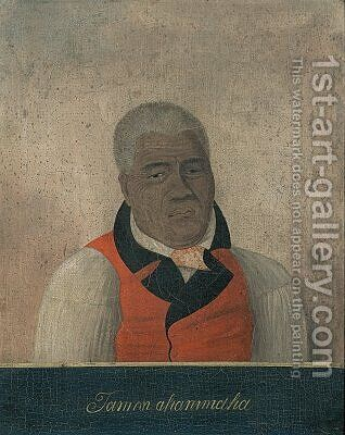 Kamehameha the Great King of the Sandwich Islands by (After) Choris, Ludwig (Louis) - Reproduction Oil Painting