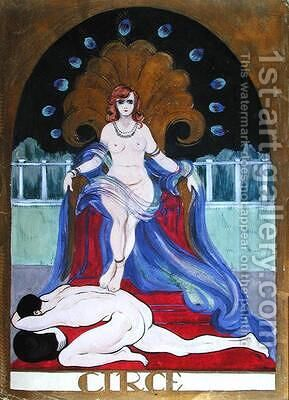 Circe by Castana - Reproduction Oil Painting