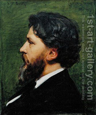 Portrait of Philippe Burty by Carolus (Charles Auguste Emile) Duran - Reproduction Oil Painting