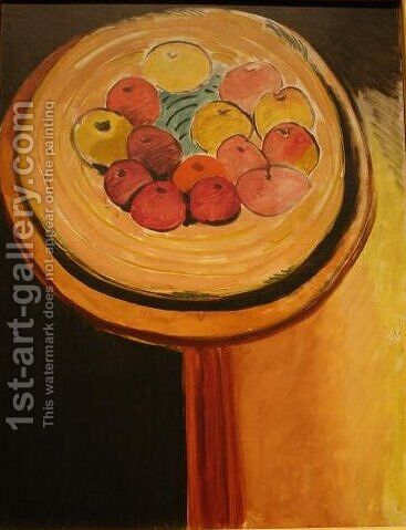 Apples by Henri Matisse - Reproduction Oil Painting