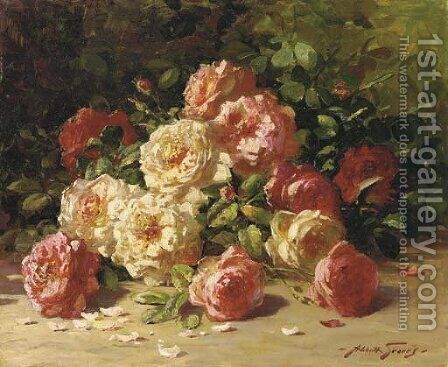Roses 2 by Abbott Fuller Graves - Reproduction Oil Painting