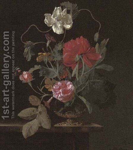 Roses by Abraham De Lust - Reproduction Oil Painting