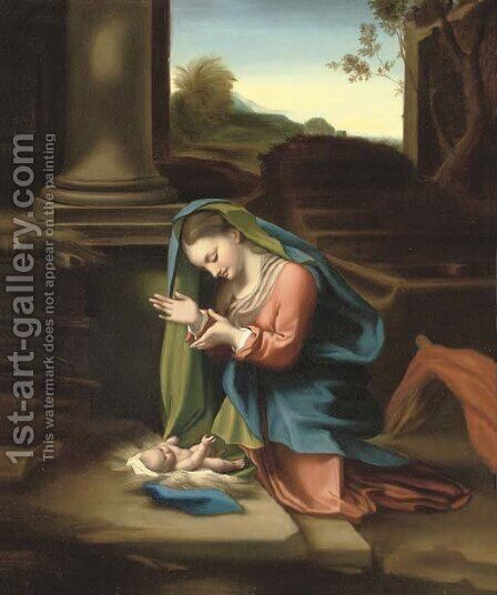 La Zingarella 3 by Correggio (Antonio Allegri) - Reproduction Oil Painting