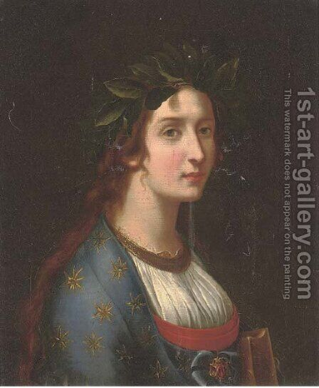 Poesia by (after) Carlo Dolci - Reproduction Oil Painting
