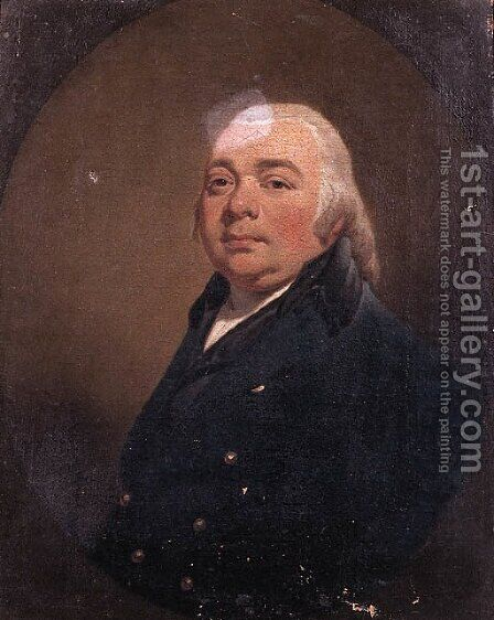 Portrait of Sebastiaen Cornelis Nederburgh (1762-1822) by (after) Charles Howard Hodges - Reproduction Oil Painting