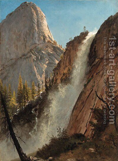 Bierstadt, Albert 3 by Albert Bierstadt - Reproduction Oil Painting