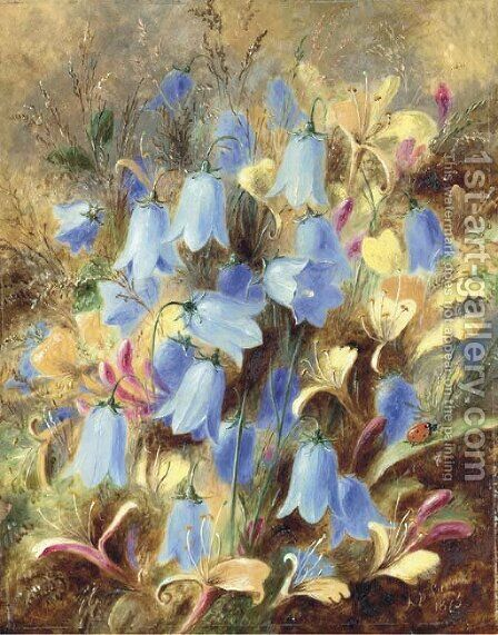 Harebells by Albert Durer Lucas - Reproduction Oil Painting