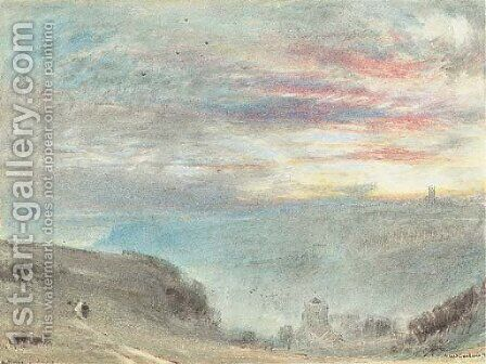 Hastings 3 by Albert Goodwin - Reproduction Oil Painting