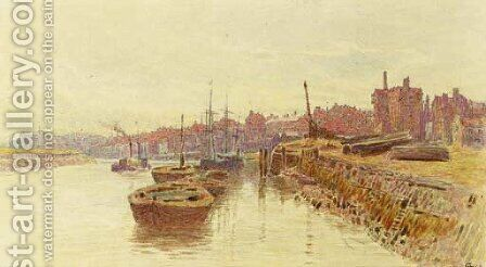 Shoreham by Albert Goodwin - Reproduction Oil Painting