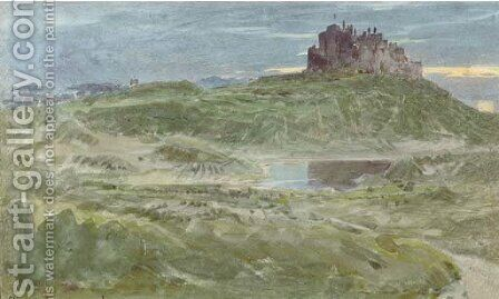 Stirling Castle by Albert Goodwin - Reproduction Oil Painting