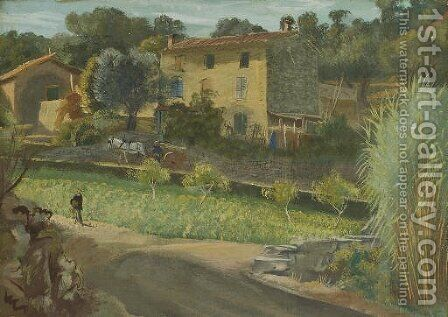 Mougins by Aleksandr Evgen'evich Iakovlev - Reproduction Oil Painting