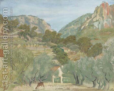 View of Cassis, France by Aleksandr Evgen'evich Iakovlev - Reproduction Oil Painting