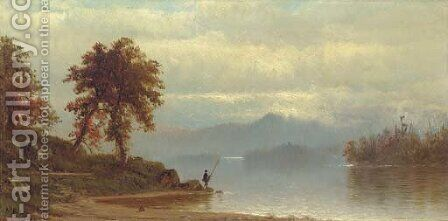 Lake George from Bolton 2 by Alfred Thompson Bricher - Reproduction Oil Painting
