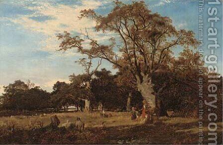 In Epping Forest by Alfred Walter Williams - Reproduction Oil Painting