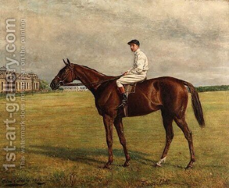 Fragilite with Jockey-up by Allen Culpepper Sealy - Reproduction Oil Painting