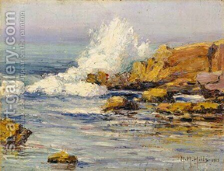 Summer Sea, Laguna Beach by Anna Althea Hills - Reproduction Oil Painting