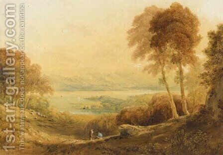 Ennerdale, from High Point Farm by Anthony Vandyke Copley Fielding - Reproduction Oil Painting