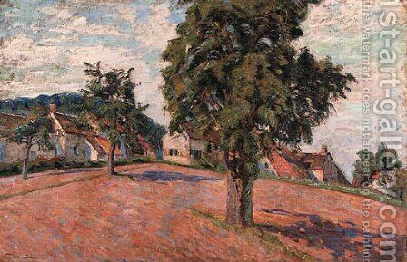Chemin de Damiette by Armand Guillaumin - Reproduction Oil Painting