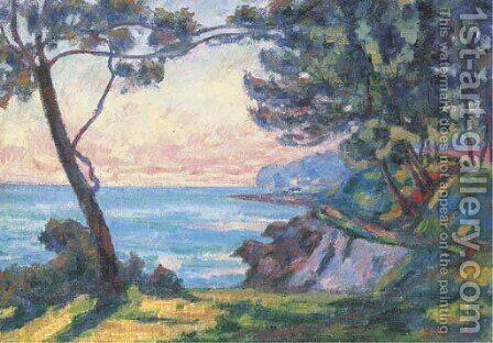 La cete de l'Esterel by Armand Guillaumin - Reproduction Oil Painting