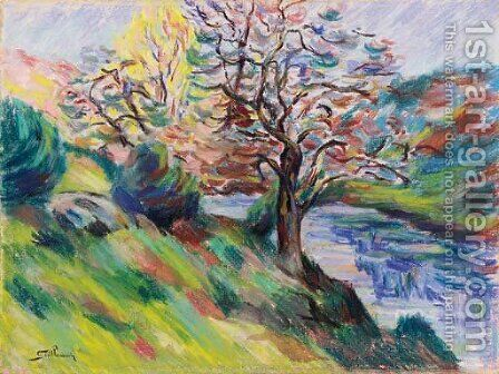 Vallee de la Creuse by Armand Guillaumin - Reproduction Oil Painting