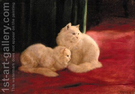 Best of friends by Arthur Heyer - Reproduction Oil Painting