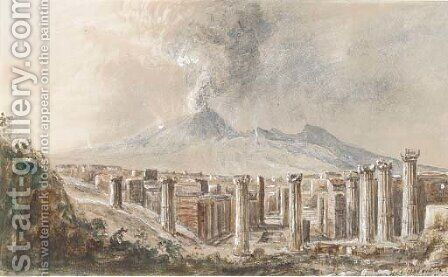 Pompeii by Arthur Perigal - Reproduction Oil Painting