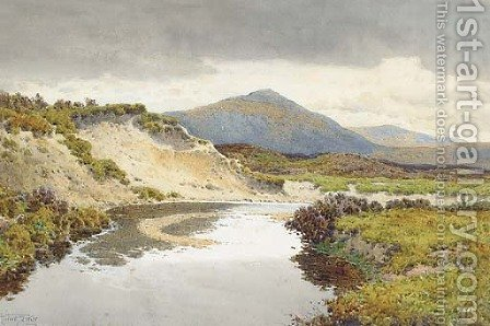 The River Taw, Dartmoor by Arthur Suker - Reproduction Oil Painting