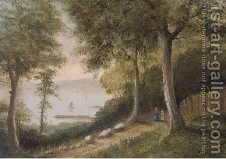 Appleby Wood, near Ryde by Arthur Wellington Fowles - Reproduction Oil Painting