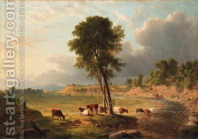 Untitled by Asher Brown Durand - Reproduction Oil Painting