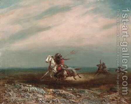 Pursuit by Astley David Montague Cooper - Reproduction Oil Painting
