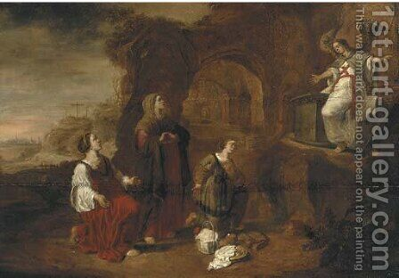 The Holy Women of the Sepulcure by (after) Abraham Van Cuylenborch - Reproduction Oil Painting