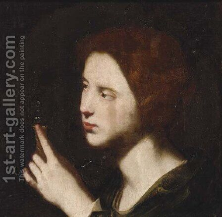 Saint Mary Magdalene by (after) Bartolomeo Passante - Reproduction Oil Painting