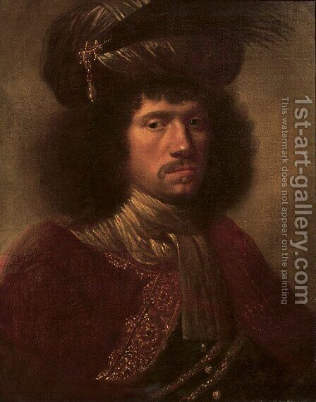 Portrait of a man by (after) Daniel De Koninck - Reproduction Oil Painting
