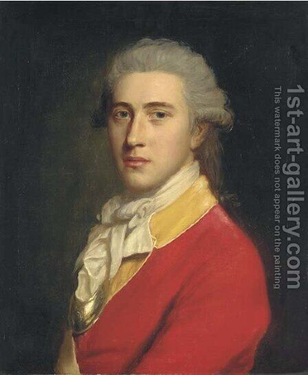 Portrait of Thomas Coward by (after) John Opie - Reproduction Oil Painting