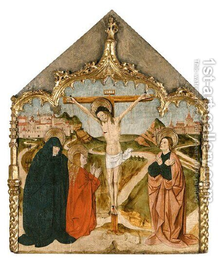 The Crucifixion by (after) Martin Soria - Reproduction Oil Painting