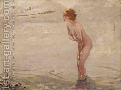 September Morning by (after) Paul Chabas - Reproduction Oil Painting