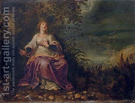 An Allegory of Water by (after) Pieter Lisaert III - Reproduction Oil Painting