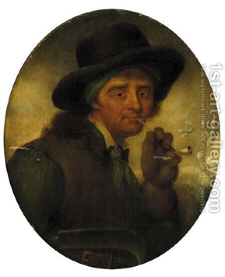 The woodman 2 by (after) Thomas Barker Of Bath - Reproduction Oil Painting