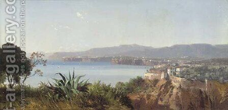Sorrento by August Albert Zimmermann - Reproduction Oil Painting
