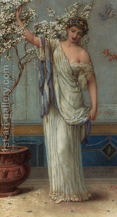 Jasmine by Augustus Jules Bouvier - Reproduction Oil Painting