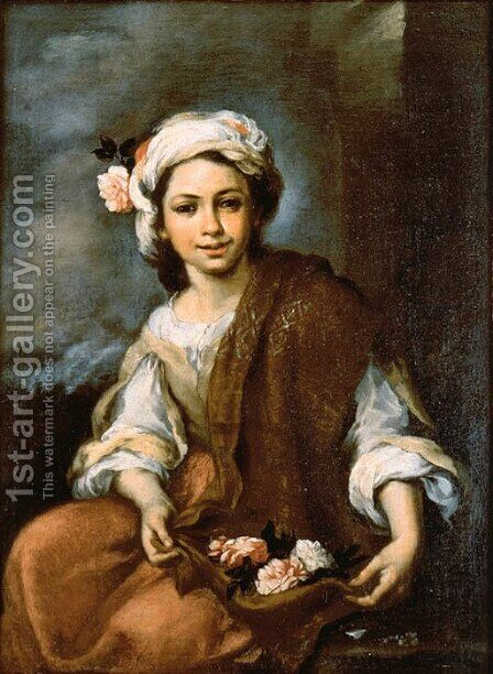 Untitled by Bartolome Esteban Murillo - Reproduction Oil Painting