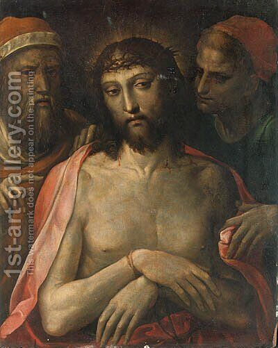 Ecce Homo by Bartolomeo Neroni - Reproduction Oil Painting