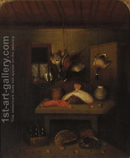 The game larder 2 by Benjamin Blake - Reproduction Oil Painting