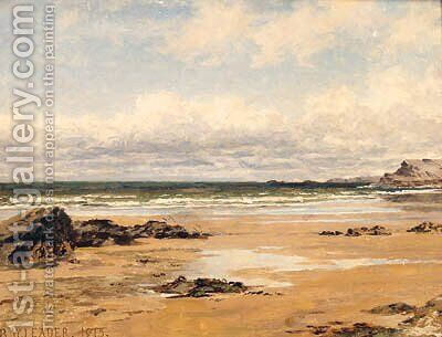 On The Kentish Coast by Benjamin Williams Leader - Reproduction Oil Painting