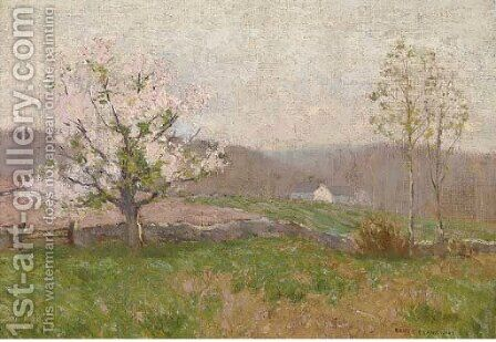 Spring blossoms by Bruce Crane - Reproduction Oil Painting