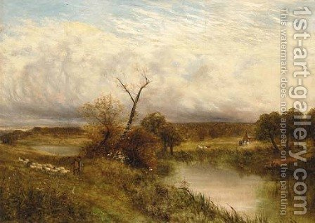At Ingleby on the Trent by Carl Brennir - Reproduction Oil Painting