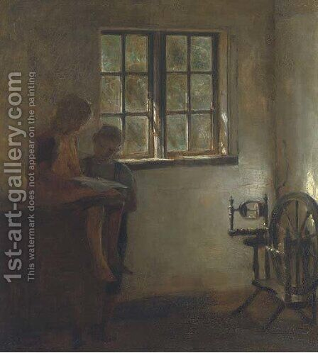 An interesting article by Carl Vilhelm Holsoe - Reproduction Oil Painting